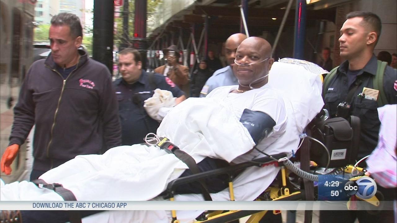 Ald. Willie Cochran collapses during budget hearing