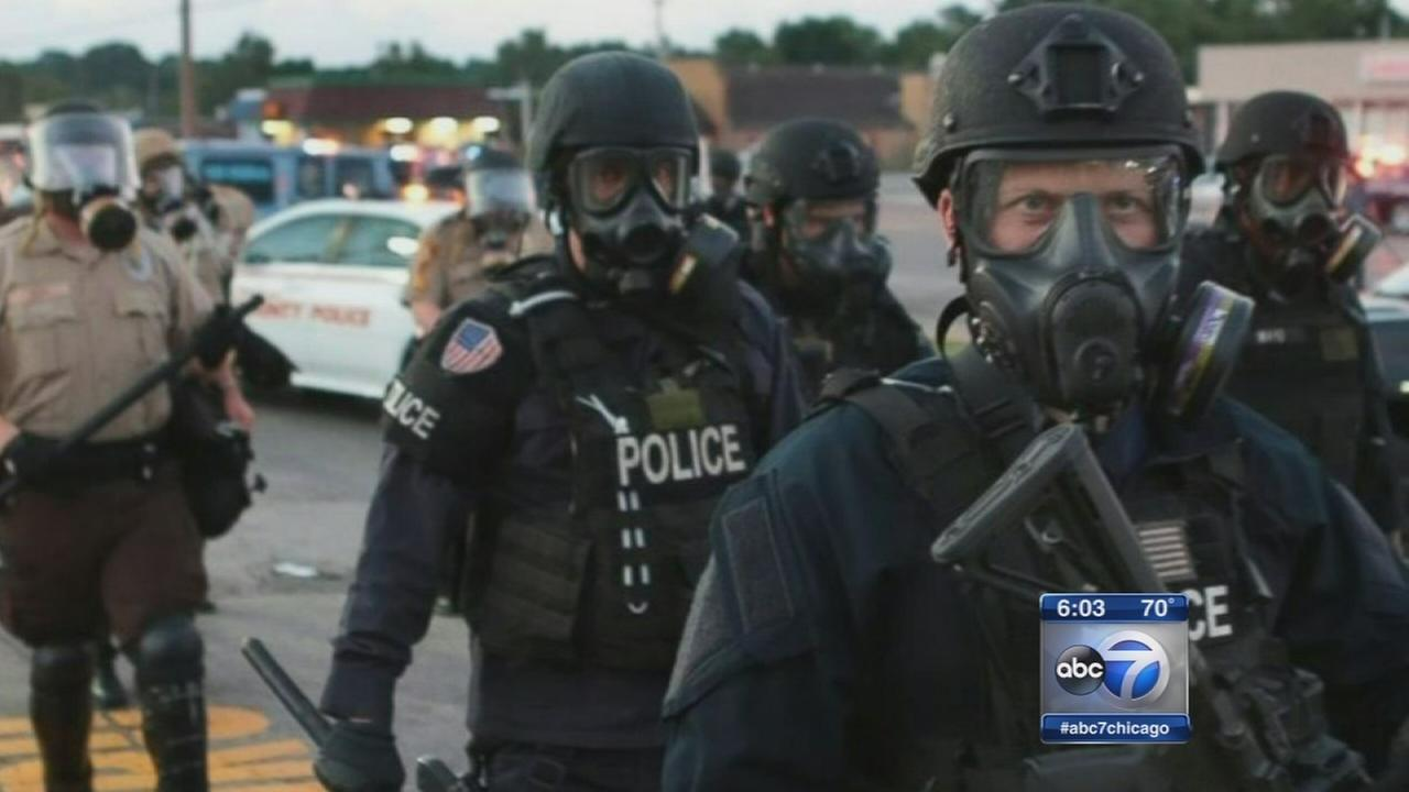 Widespread militarization of Illinois police forces