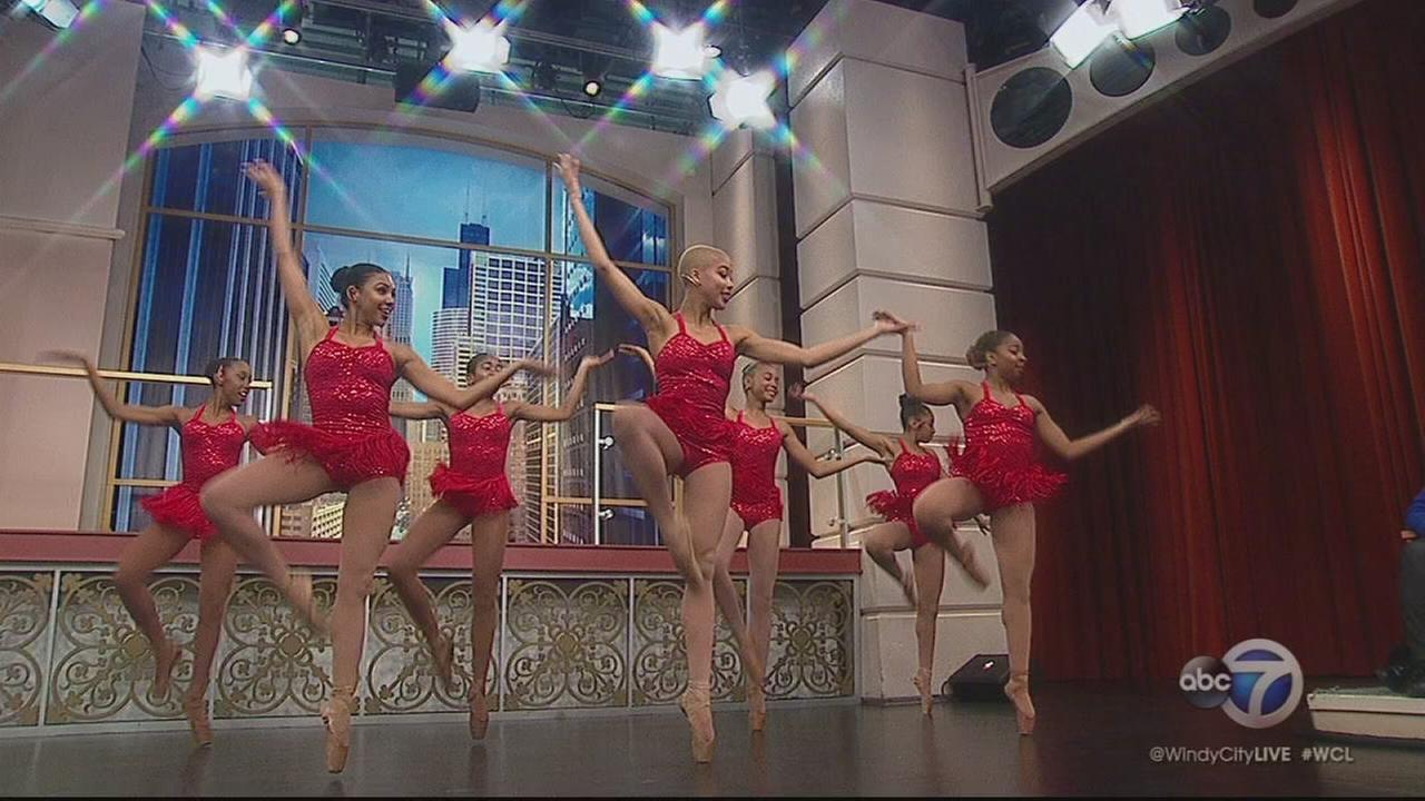 Chicago?s Hiplet Ballerinas perform