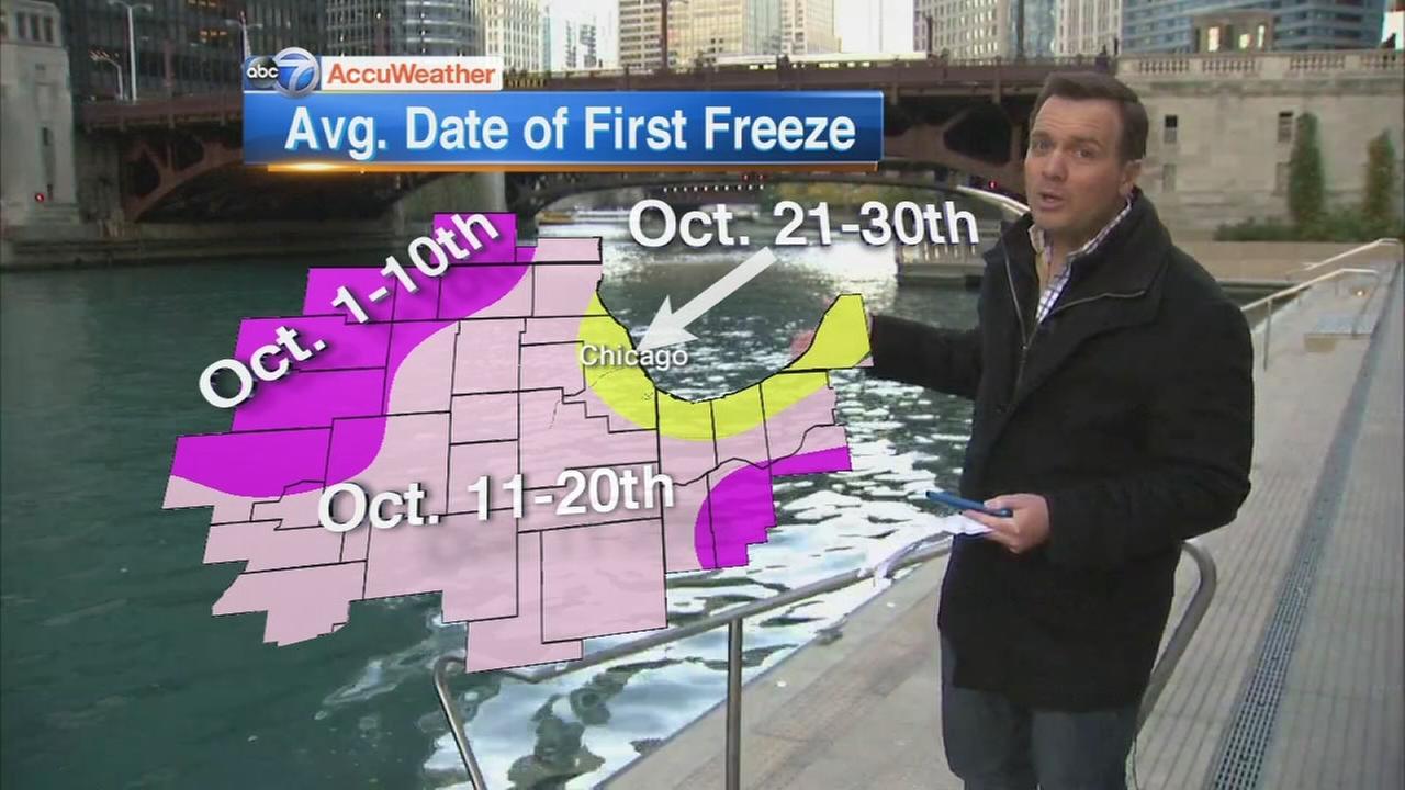Chicago sees coldest morning of season so far