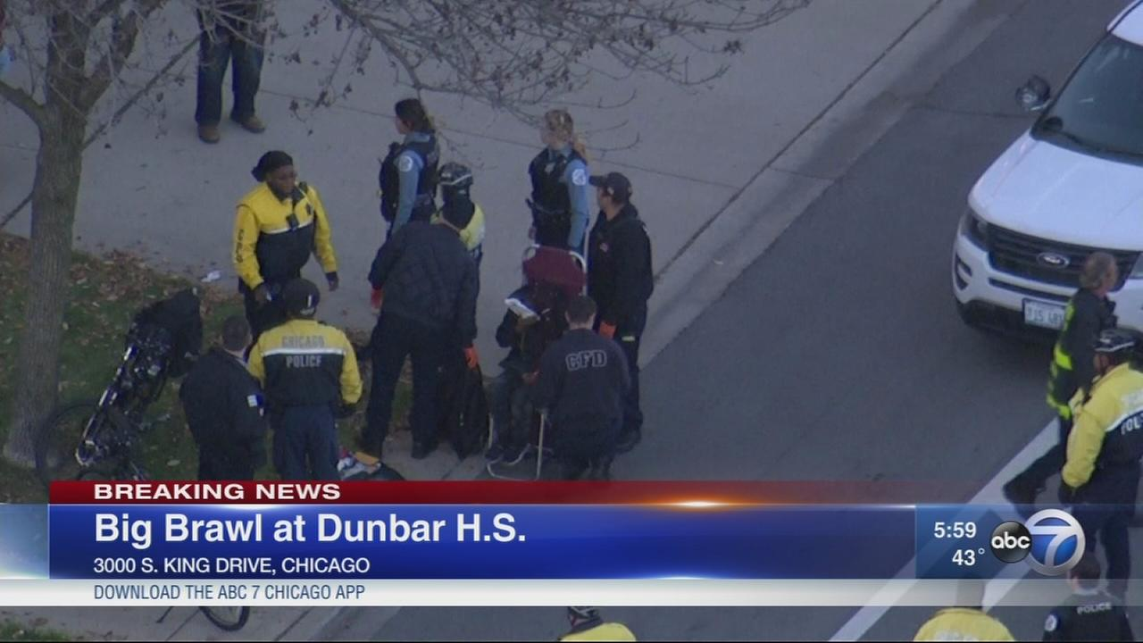 Police: Brawl outside Bronzeville school involved students, parents