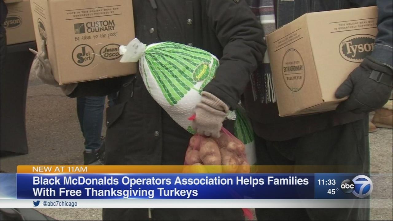 Free turkeys to be given to Chicagoans in need