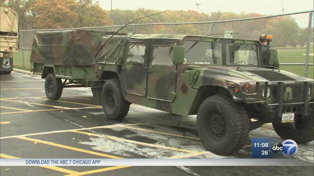 Historic vehicles on display to honor Veterans Day in Orland Park