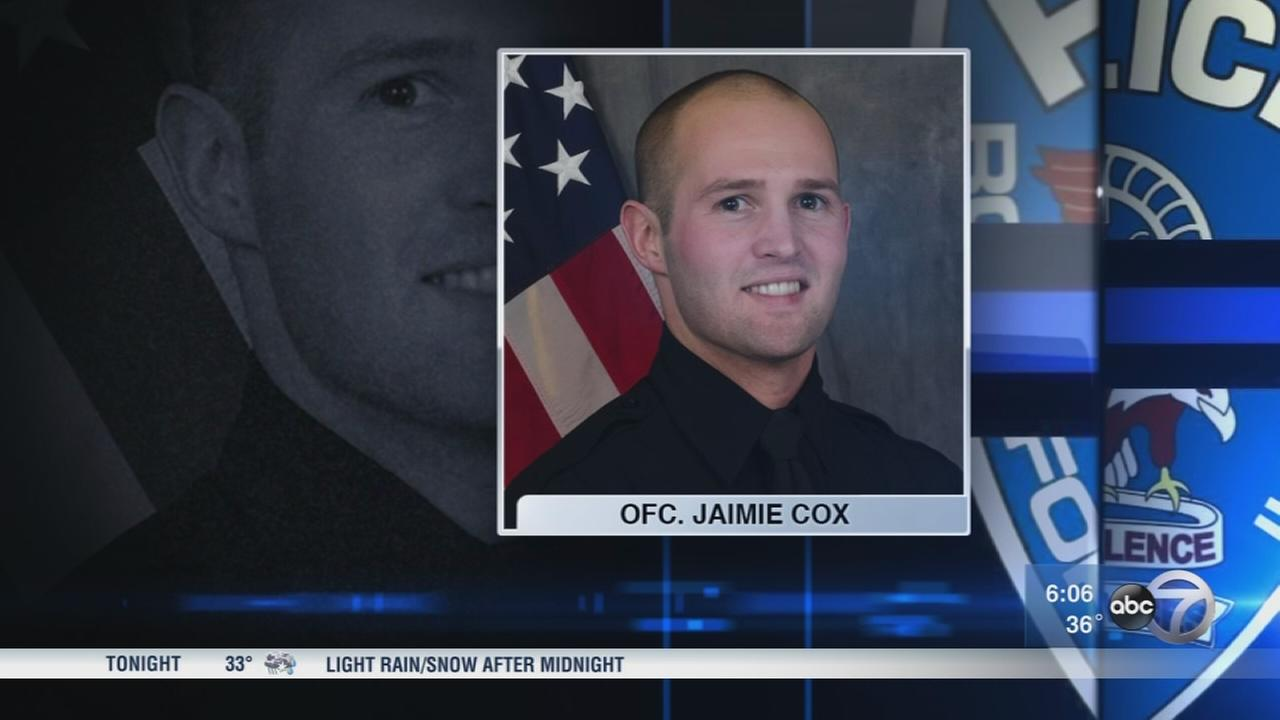 Funeral held for fallen police officer