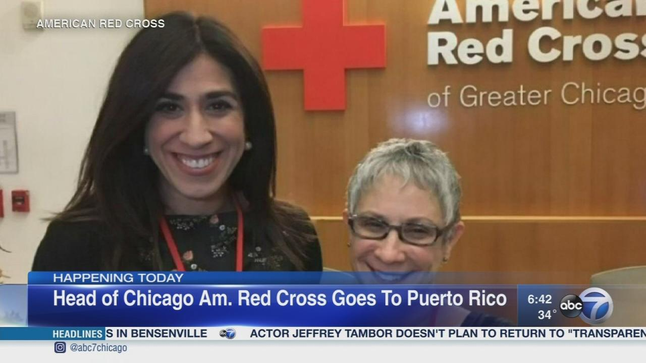 Head of Chicago Red Cross heading to hurricane-ravaged Puerto Rico