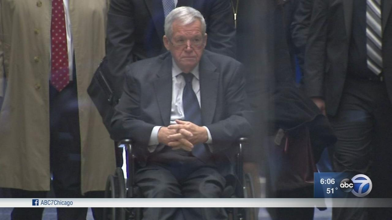 Dennis Hastert civil suit tossed