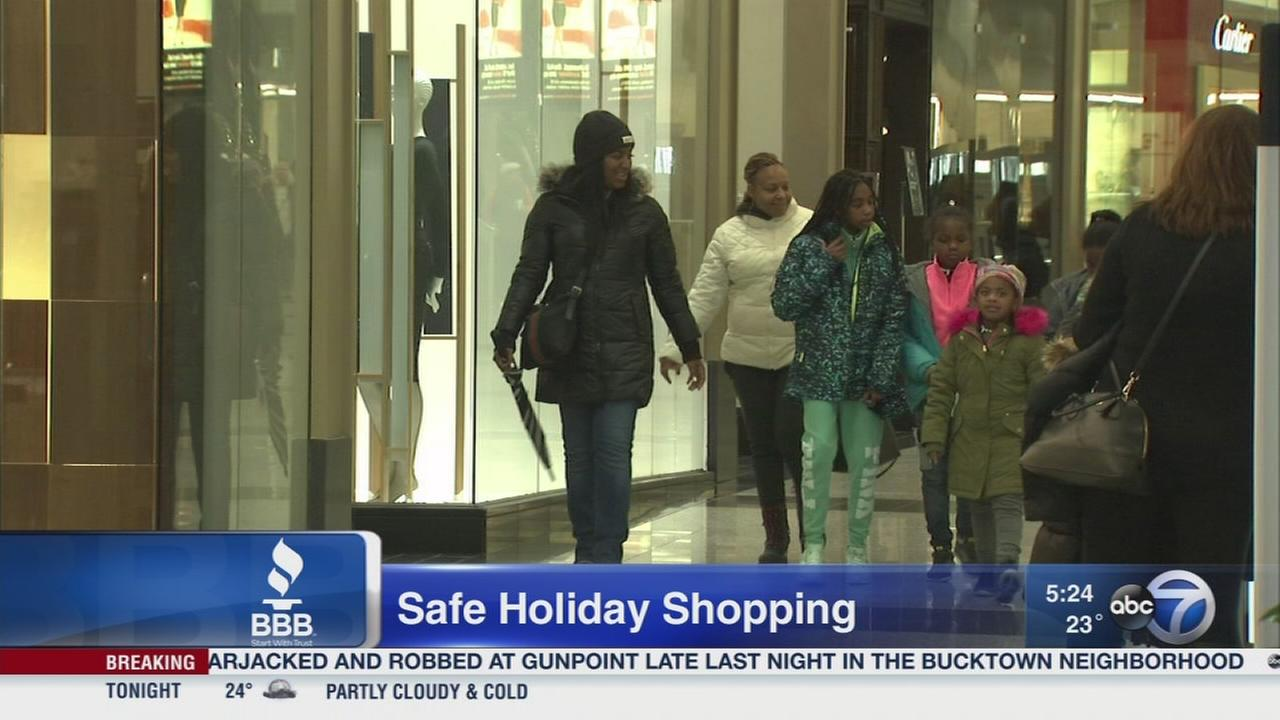 Safe holiday shopping