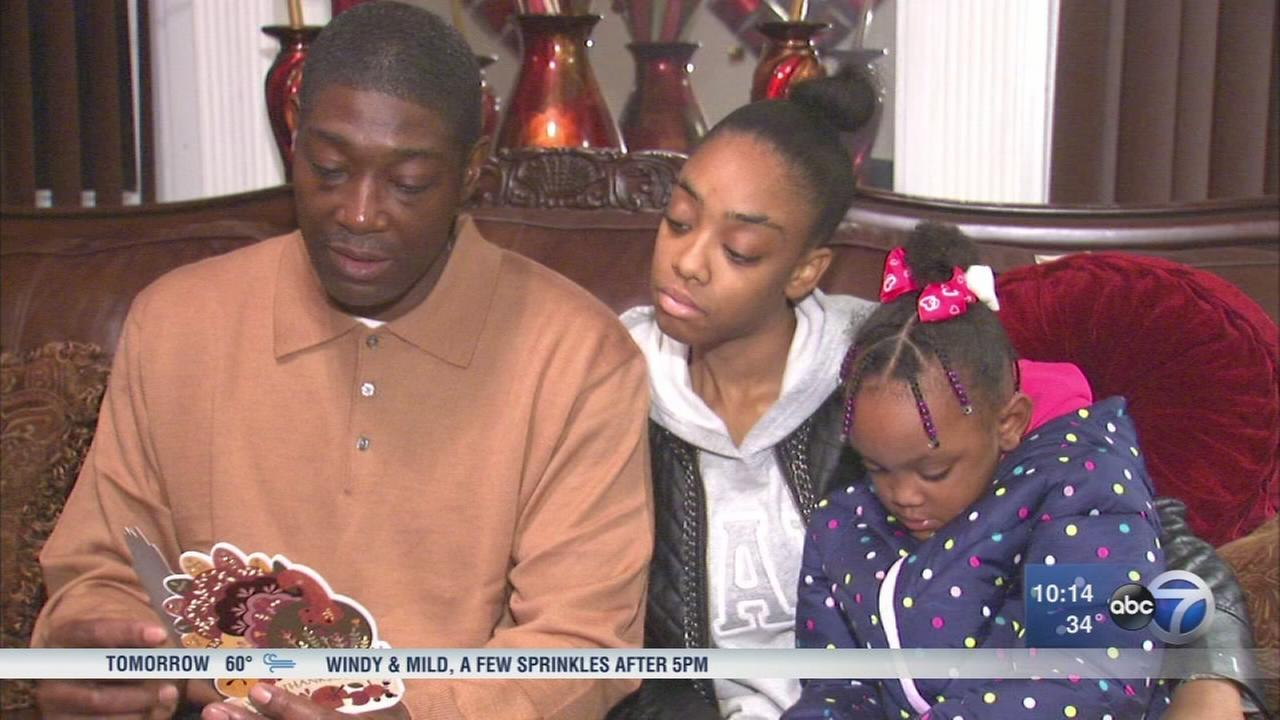 Freed Chicago man celebrates Thanksgiving after 20 years in jail
