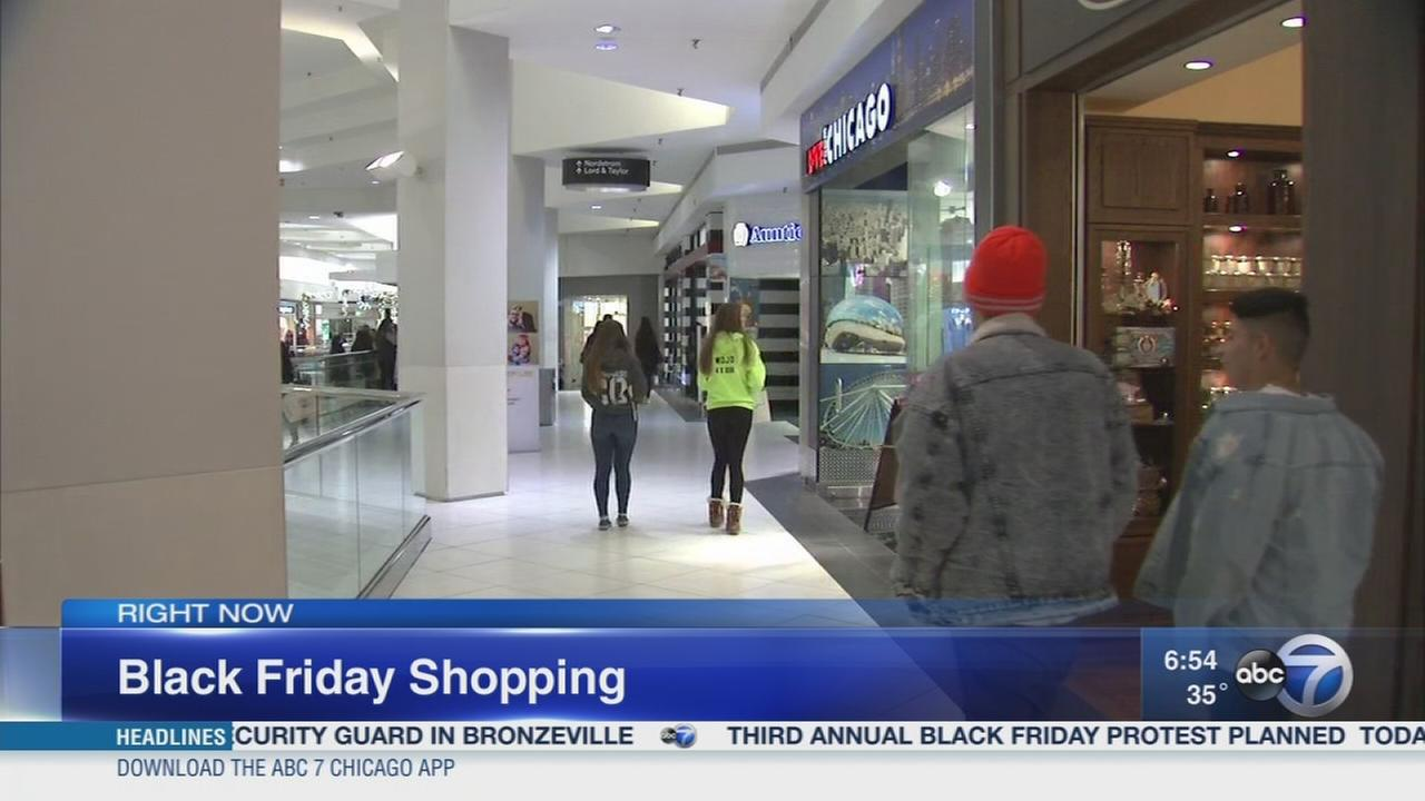 Shoppers get up early for Black Friday deals