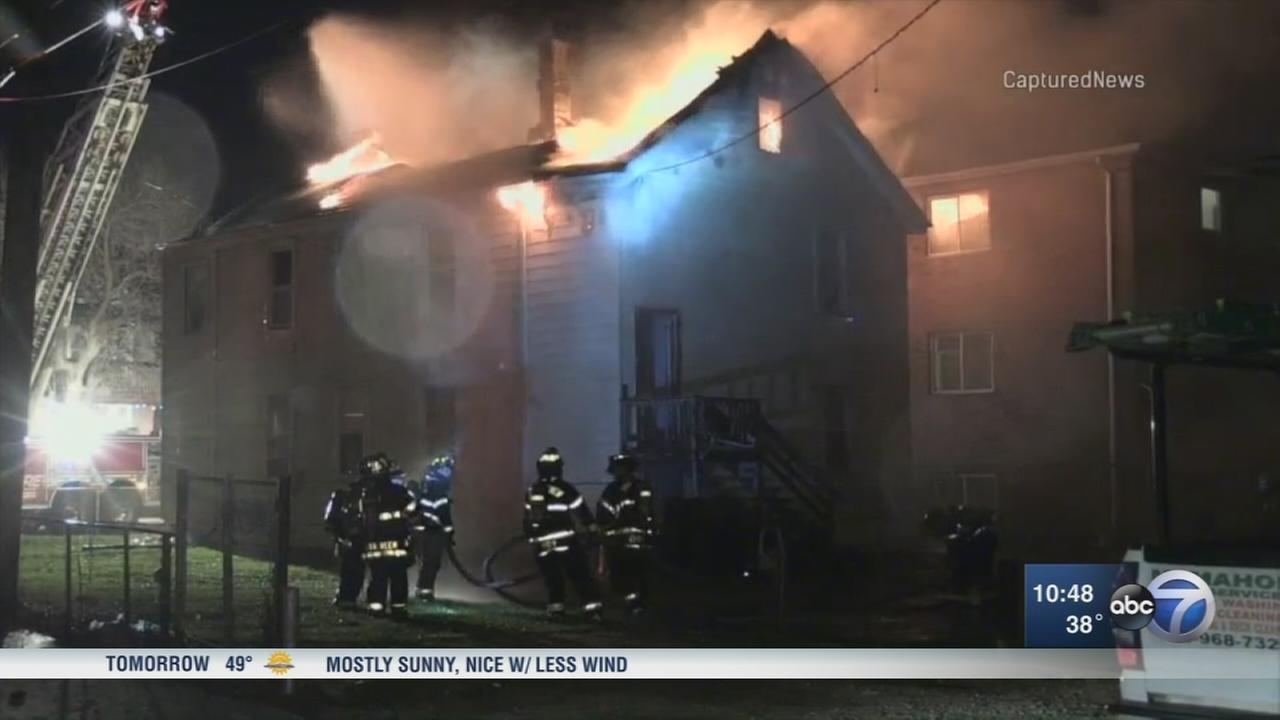 2-unit apartment fire displaces several families in Summit