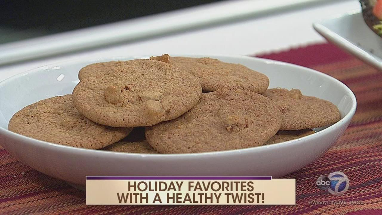 Healthy recipes for holiday favorites