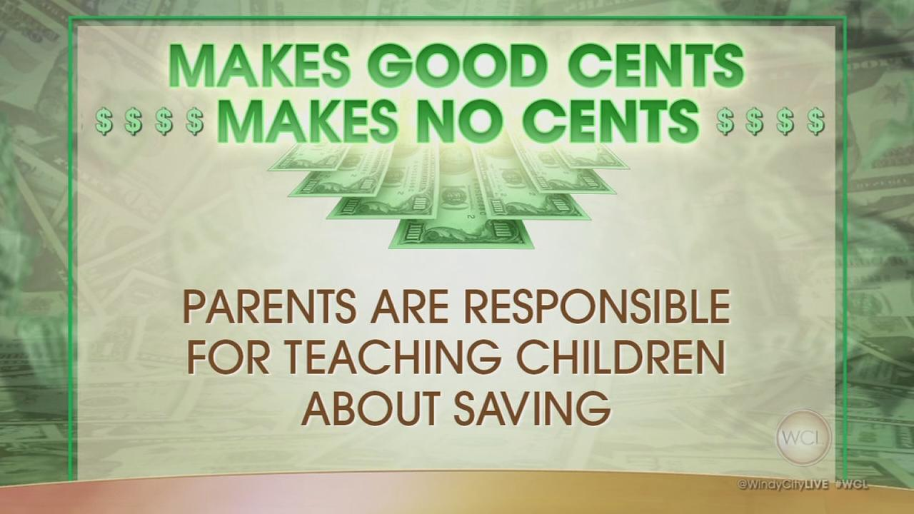 Teaching kids to save during the