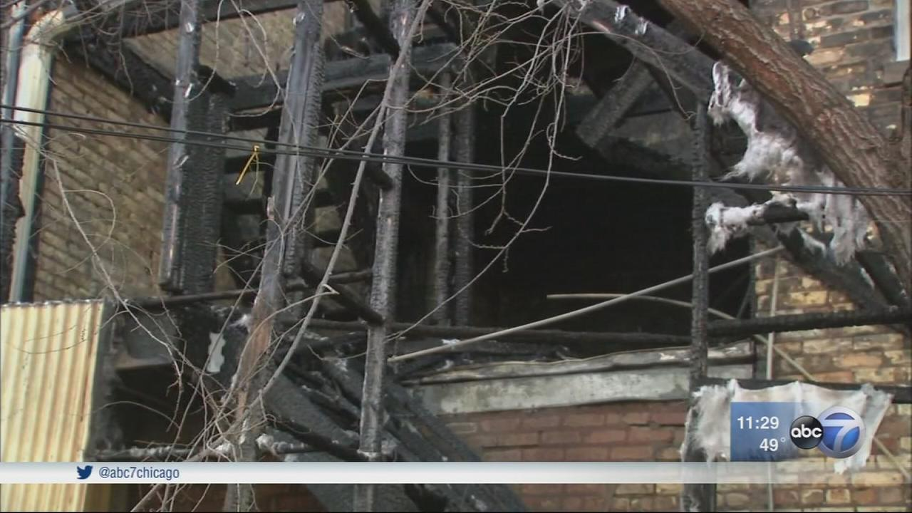 12 displaced by Albany Park fire