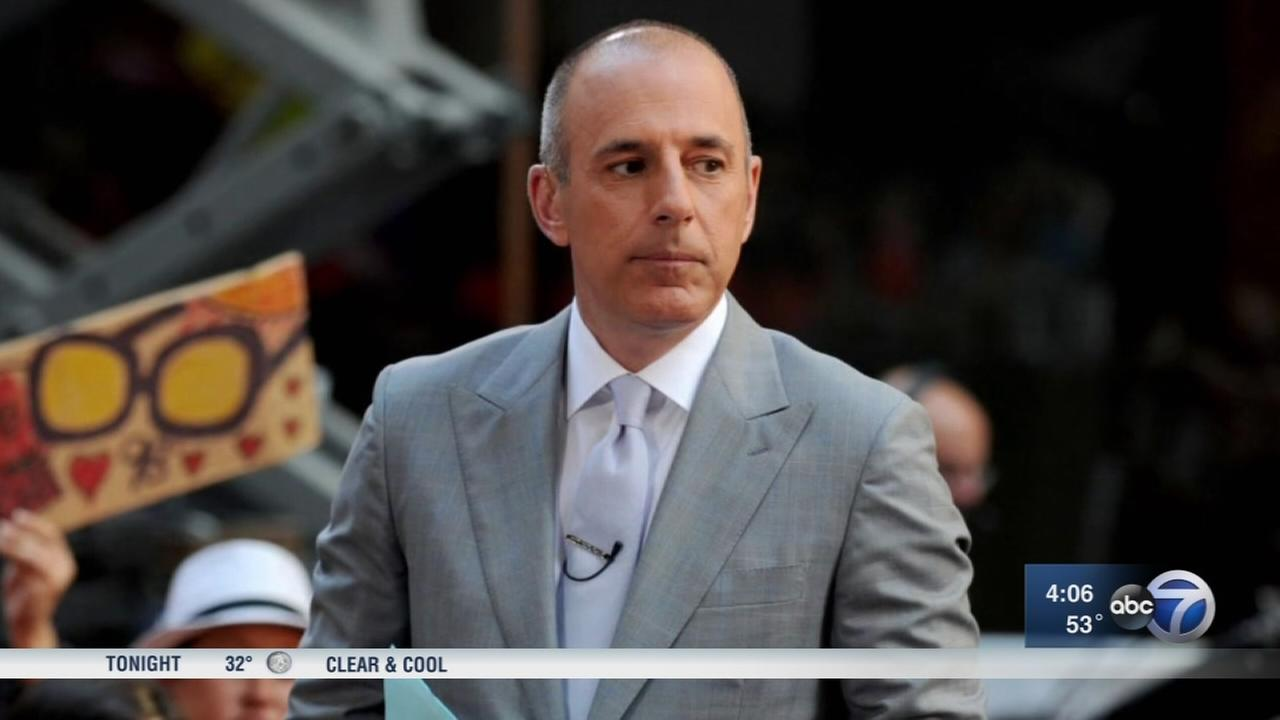 Matt Lauer: To the people I have hurt, I am truly sorry