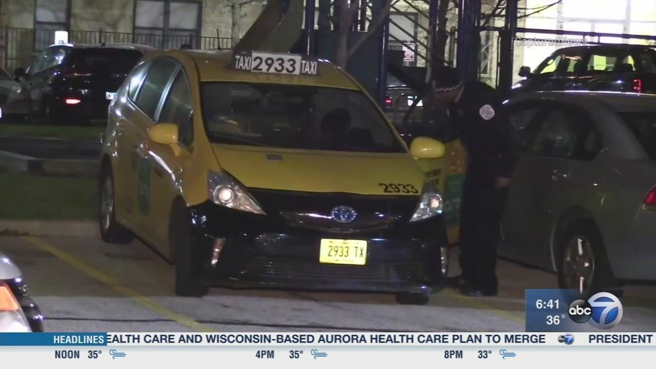 Woman robbed of keys at gunpoint, cab stolen