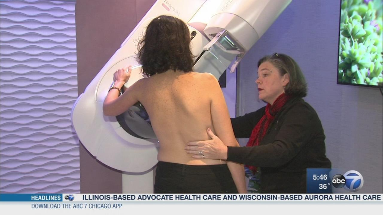 New technology helps make mammograms less painful