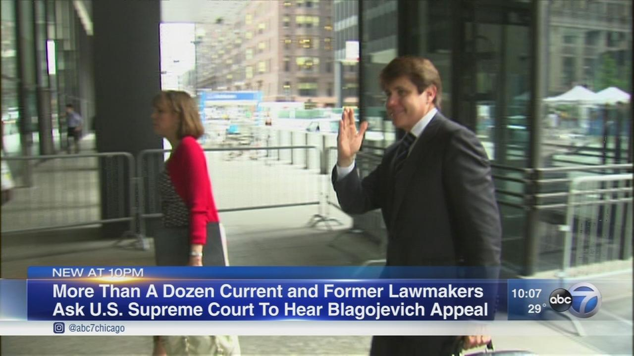 Current, former lawmakers urge Supreme Court to take up Blagojevich appeal
