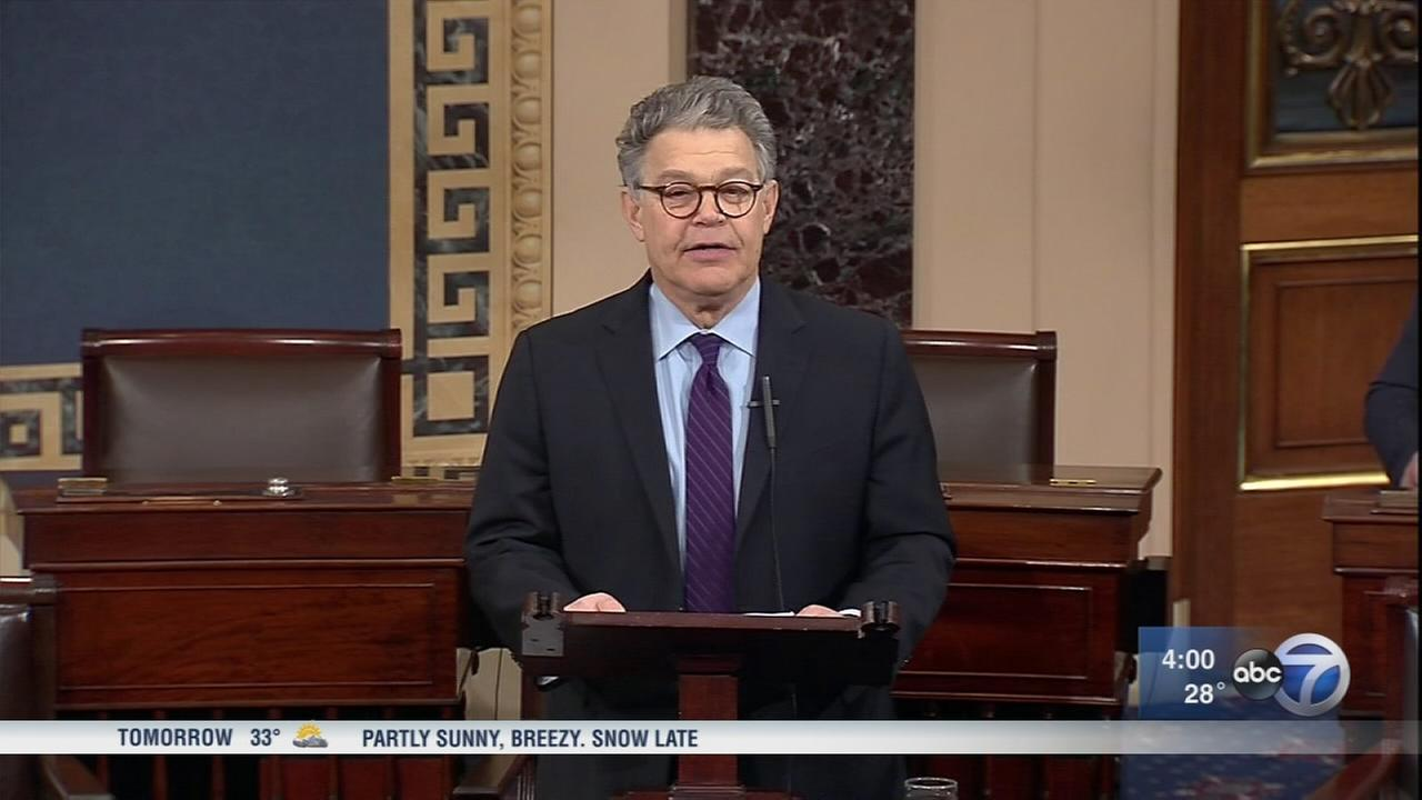 Al Franken announces resignation following allegations of sexual misconduct