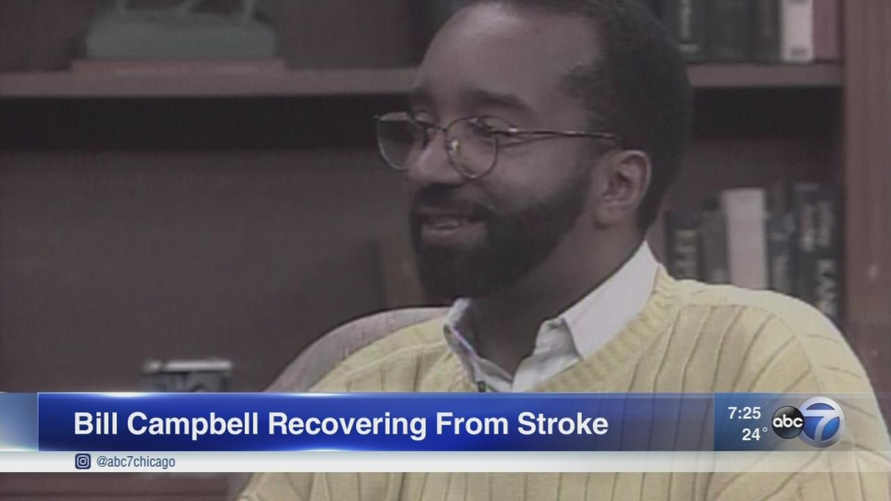 Bill Campbell, former ABC7 colleague, recovering from stroke