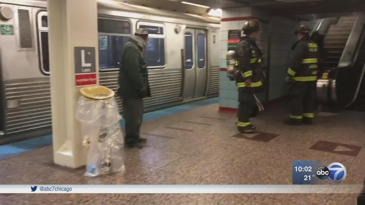 Red Line train derails