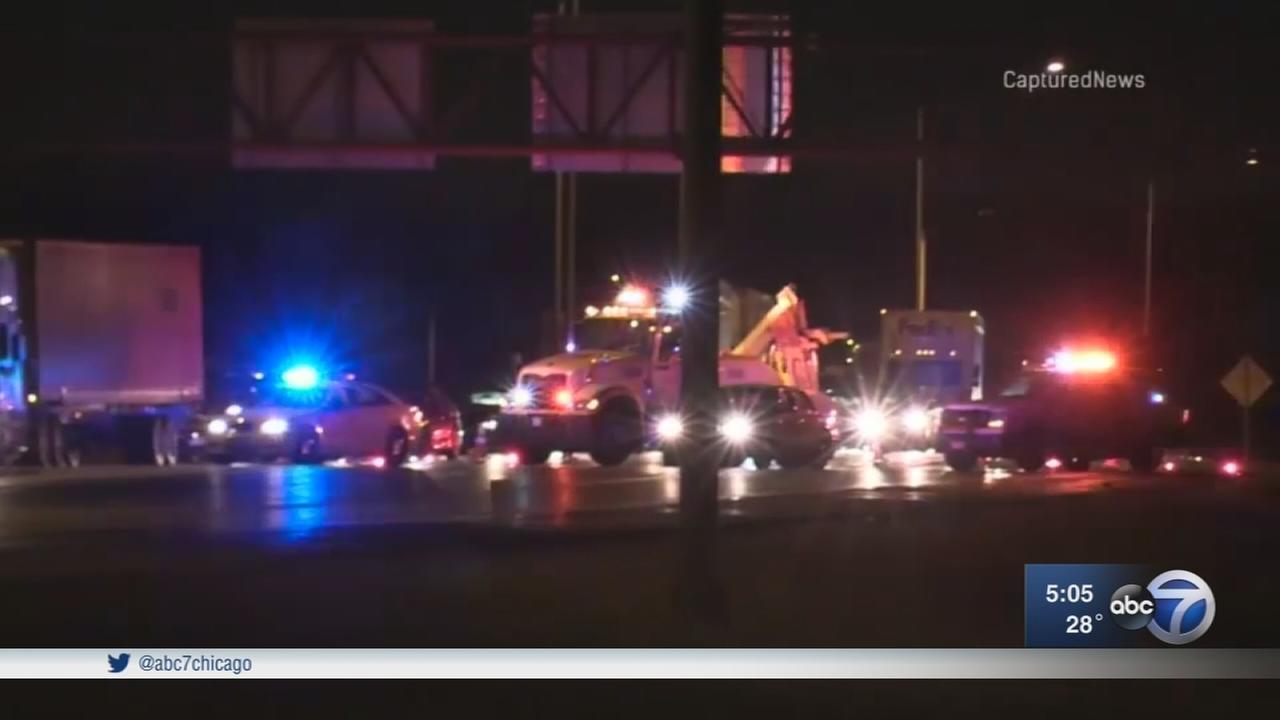 2 men in Lamborghini killed in I-57 crash in Matteson