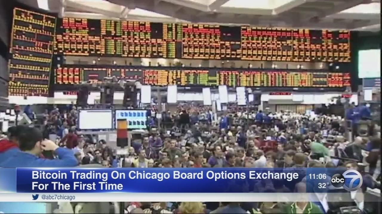Bitcoin futures now being traded in Chicago