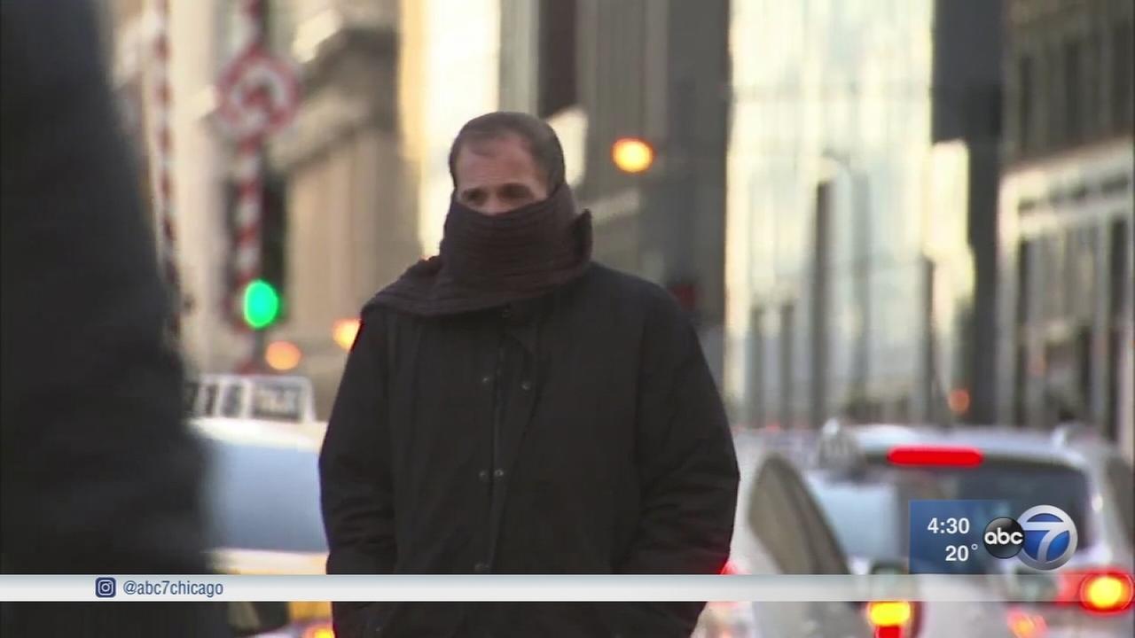 Chicago endures coldest weather so far this season