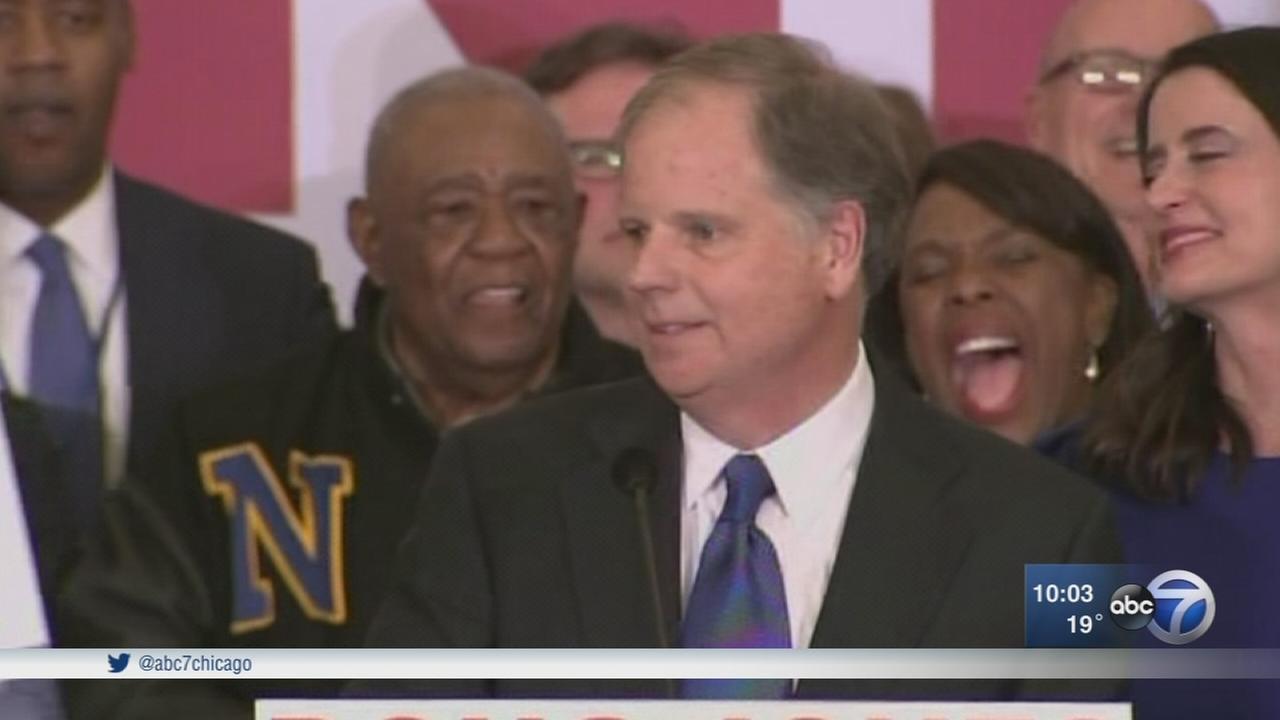 Doug Jones wins Alabama Senate seat, beating Roy Moore