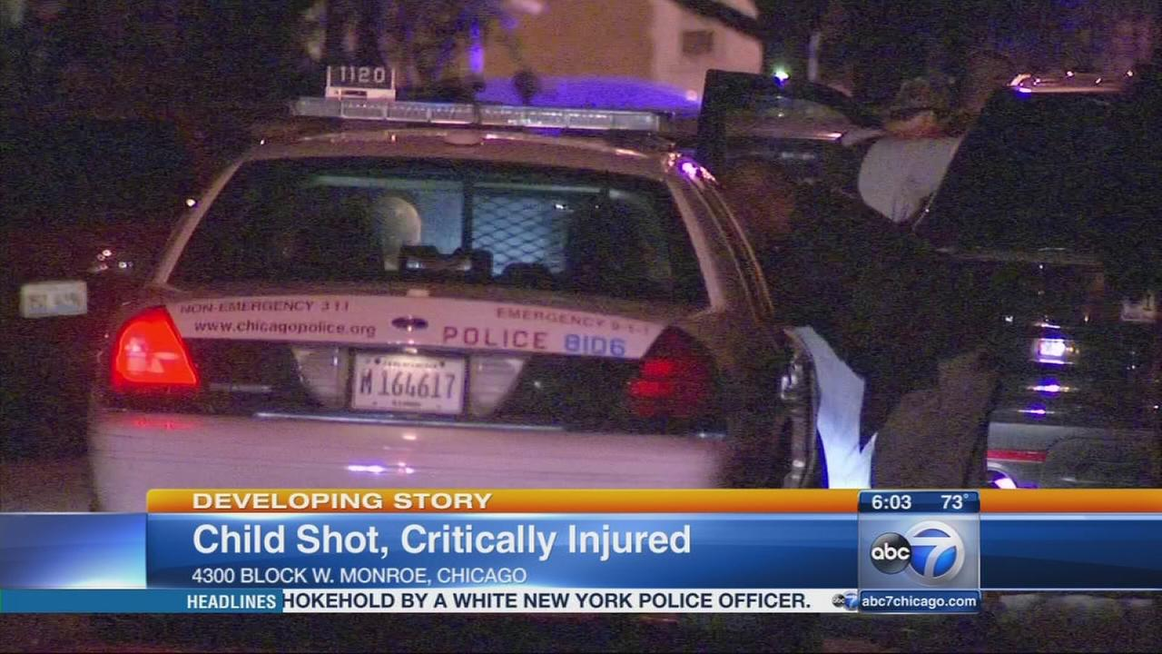 3-year-old shot in West Garfield Park home