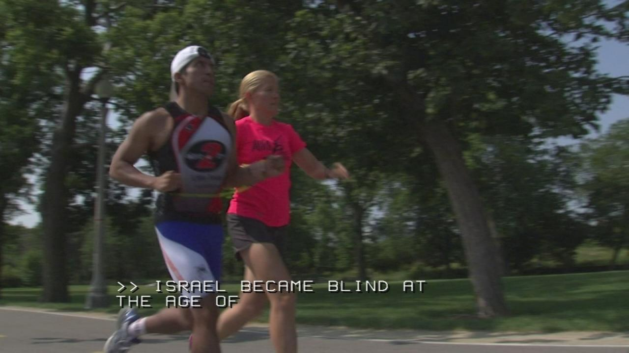 Blind athlete numbers on the rise with training programs
