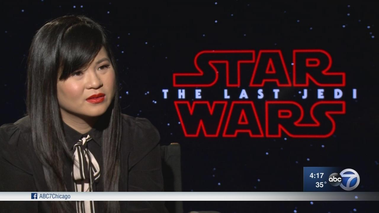 Young actors reflect on ?The Last Jedi? roles