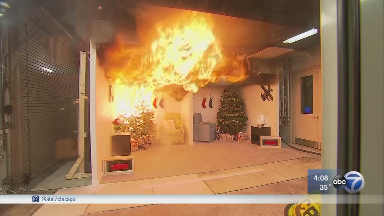 Chicago Fire Department, doctors warn of holiday fire risks