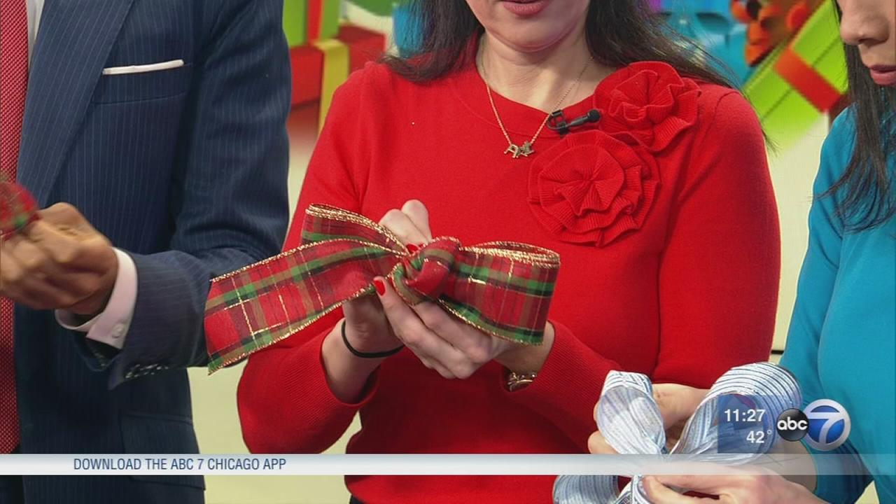 Expert shares tips on making your own bows for the holiday