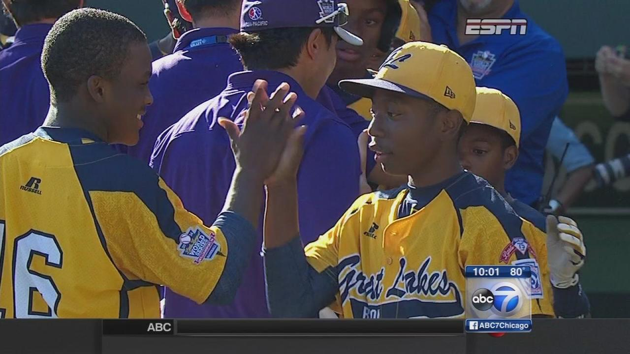 Jackie Robinson West All-Stars coming home champs