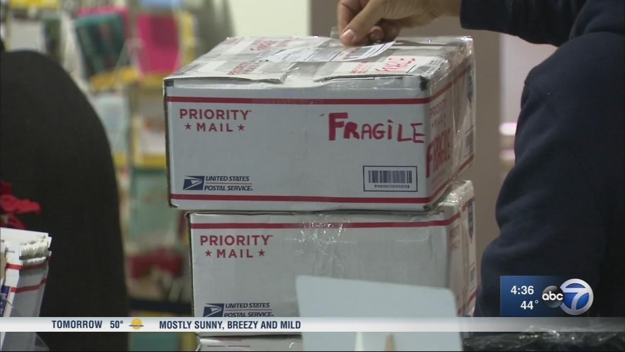 USPS sees busiest week of the year