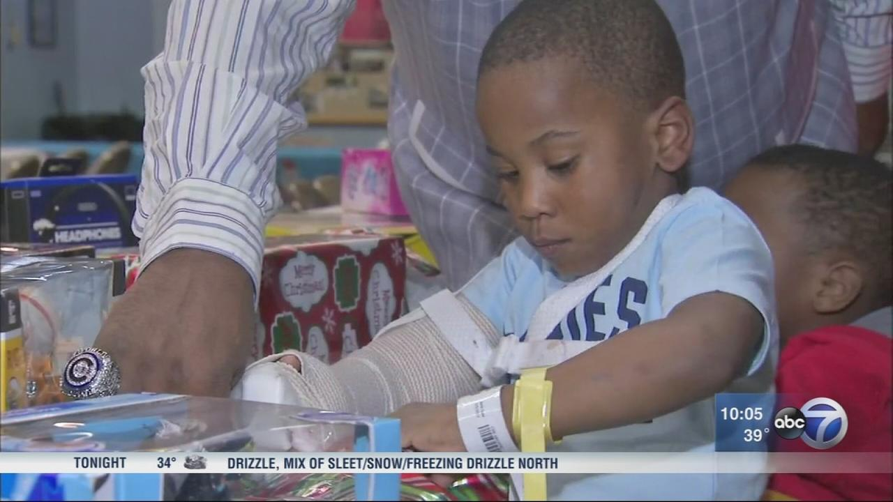 Boy, 5, who accidentally shot himself released from hospital