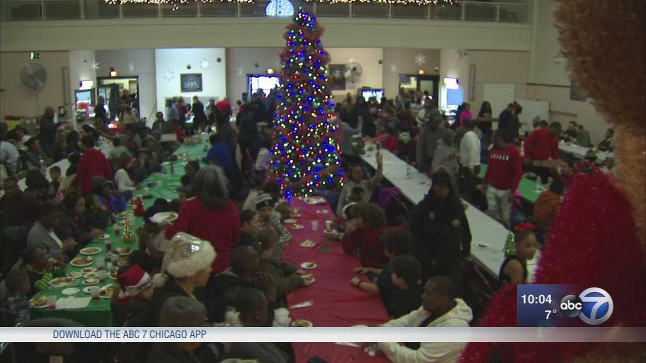 St. Sabina shares food, toys, loves with less fortunate on Christmas