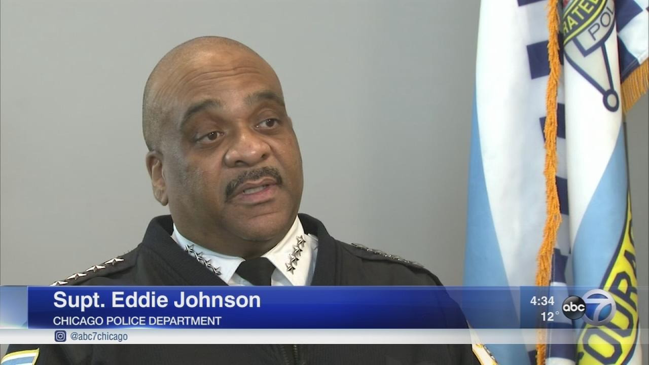 One-on-one with Supt. Eddie Johnson