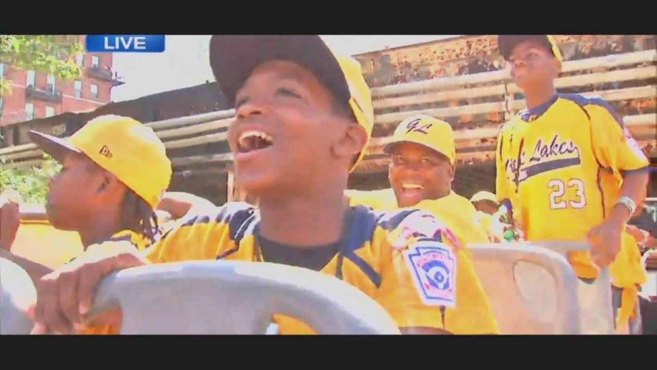 Thank you, Jackie Robinson West