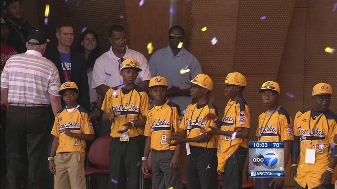 City applauds Jackie Robinson West players