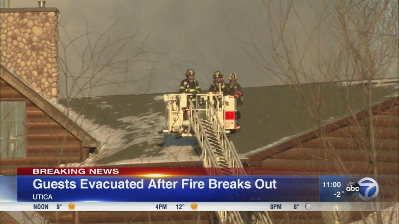Grand Bear Resort evacuated due to 5-alarm fire