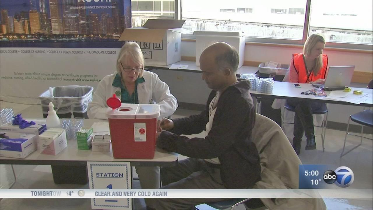 Flu cases surge early in Cook County