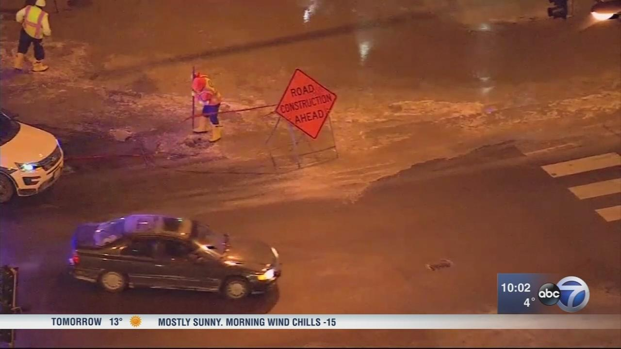 Water main breaks, burst pipes more common with next weeks warm up