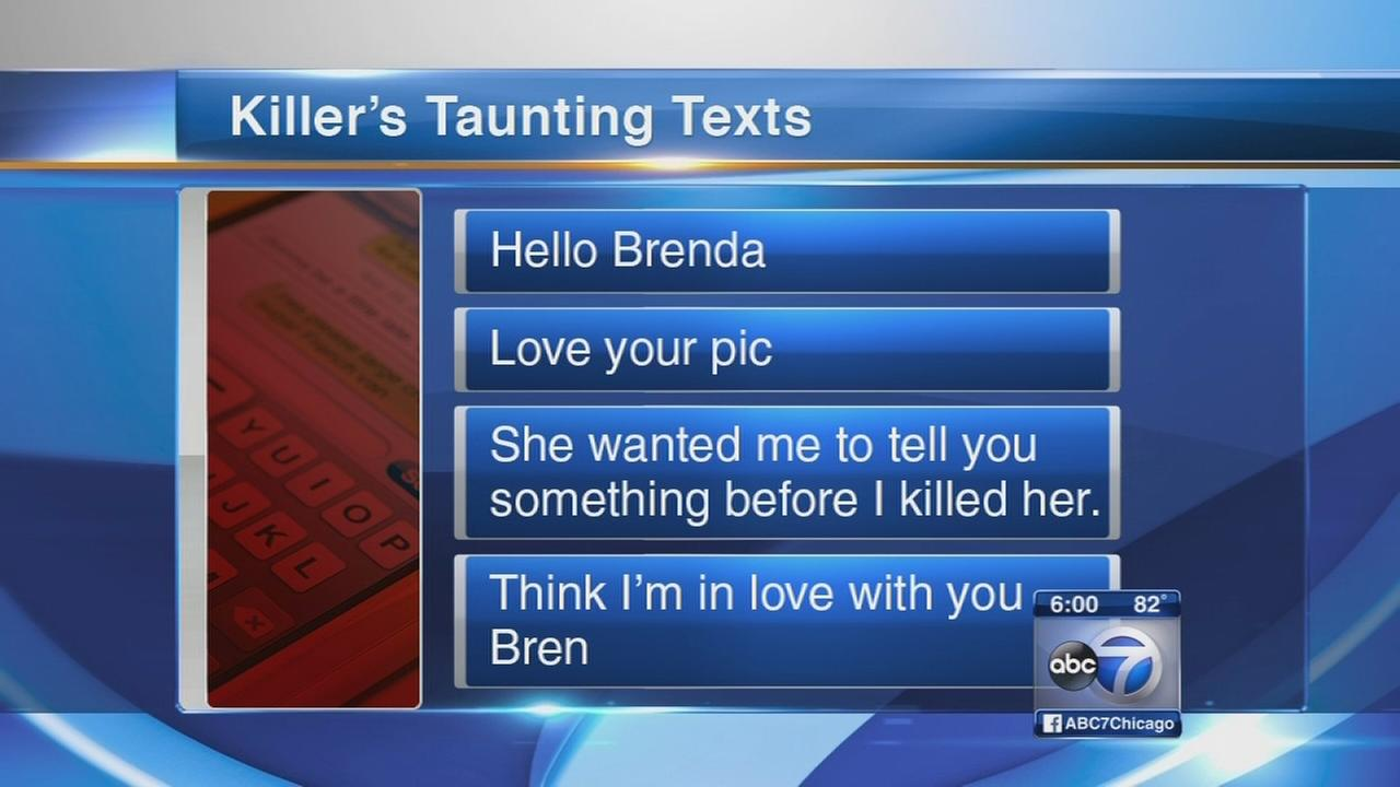 Prosecutors: Killer sent taunting texts to victims mother