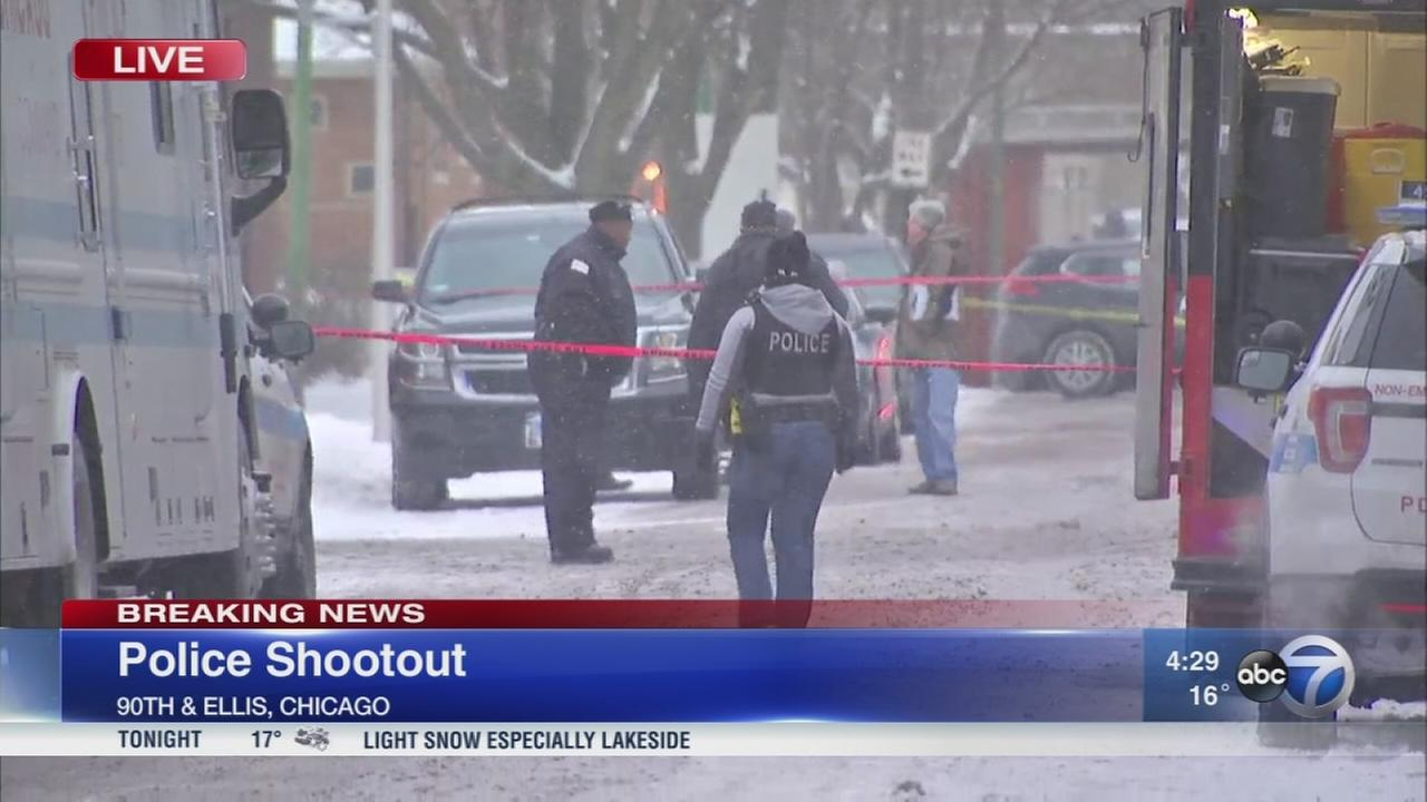 No one injured in police-involved shooting, police say