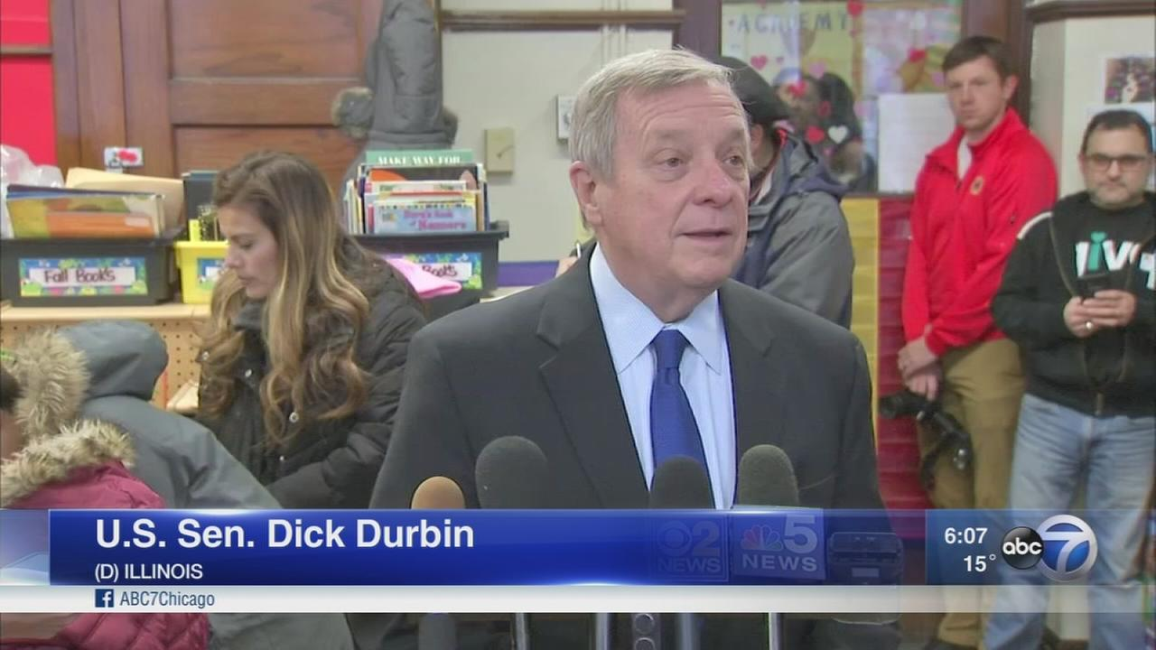 Trump slams Sen. Durbin over DACA comments