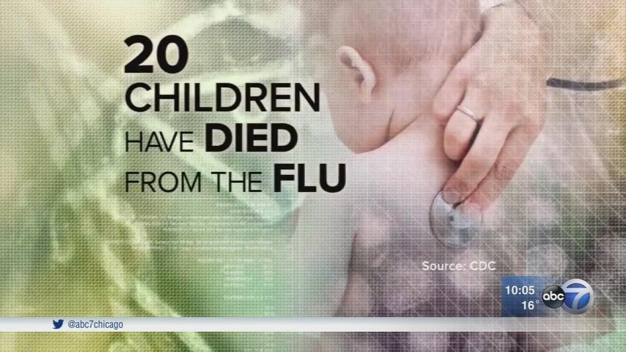 20 children dead from flu in US this winter