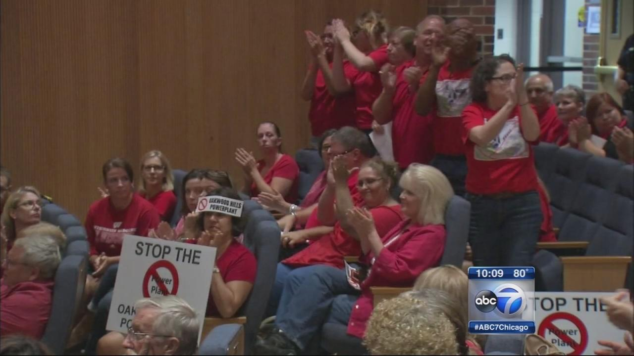 Oakwood Hills residents voice concern over proposed power plant
