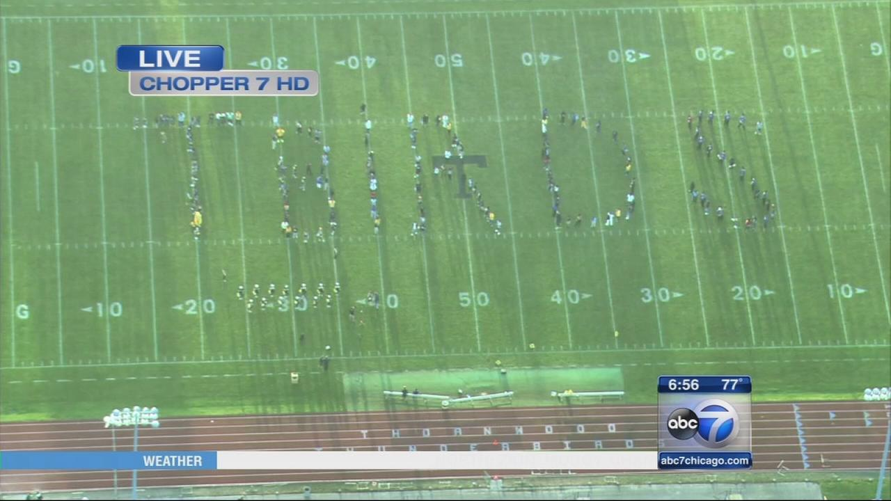 Friday Flyover Thornwood High School
