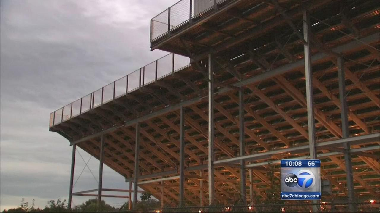 Crystal Lake neighbors battle high school over bleachers